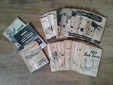 Vintage MoPar Chrysler Corp Service Reference Books 1950's -- Lot of 31