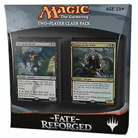 Magic the Gathering MTG Two Player Clash Pack Fate Reforged Mazzi Doppi Inglese