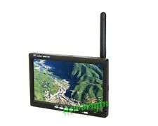 "5.8G FPV Receiver Monitor HD 7"" 800 x 480 LCD  wireless RC Snow display Screen"