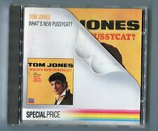 Tom Jones CD what's New Pussycat © 1987 WEST GERMANY SPECIAL PRICE Edition 16-tr