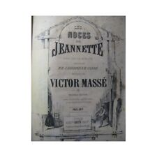 MASS Victor the wedding of Jeanette Opera 19th partition sheet music score