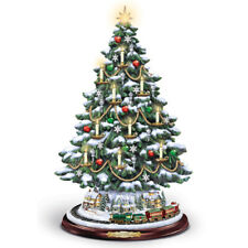 The Heart of Christmas Tree Thomas Kinkade Bradford Exchange