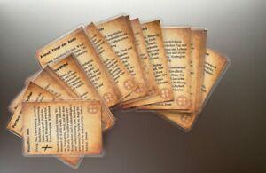 24 Runen Karten. Magische Orakel Karten