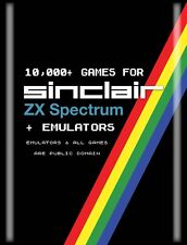 10,000+ SINCLAIR ZX SPECTRUM GAMES & SPECTRUM PC EMULATORS.