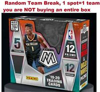 2019/20 Panini Mosaic Basketball Tmall T Mall One Hobby Box Random Team Break #6