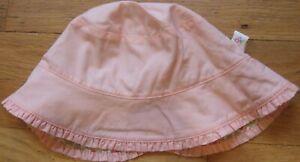NEW Vintage 2002 GYMBOREE Reversible WESTERN PRAIRIE Pink HAT S M 3T 3 4T 4 NWT
