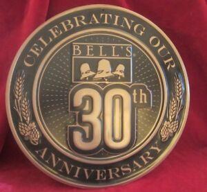 BELLS BREWING Michigan ~ 30th ANNIVERSARY Logo Sign