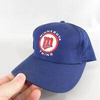 Minnesota Twins Baseball Trucker snap Back Hat Blue cap embroidered logo