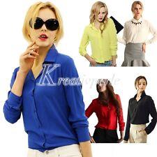 Taillenlange Damen-Shirts aus Chiffon