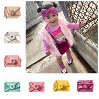 Headwear Toddler  Head Wrap Baby Hair Band  Elastic Turban Knot Headband