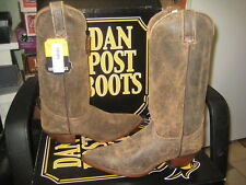 Dan Post Women's western Boots DP3262 Roughie (Tan) Size 10 M NEW