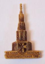 Abzeichen Sudetendeutscher Tag - Nürnberg 1964