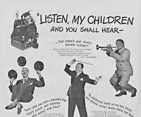 1947 RCA Victor Records Vintage Print Ad The Stars Who Make The Hits