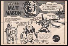 RARE  PUB / PUBLICITE  MAJOR MATT MASON VINTAGE 60's  / 3