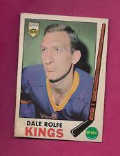 1969-70 OPC # 100 KINGS DALE ROLFE EX CARD (INV# 9882)