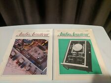 """Audio Amateur"" magazines from 1990"