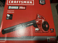 Craftsman 25cc handheld gas blower B210