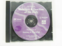 Mosby's Structure and Function Of The Body 10th Edition With CDROM Disc Only