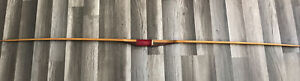 """VINTAGE FOLBERTH LONG BOW 69-3/4"""" DRAW WEIGHT 25-35 POUNDS"""