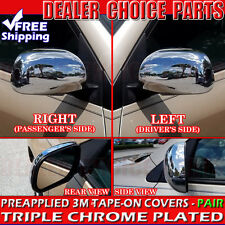 2006-2012 Toyota Rav4 Chrome Mirror COVERS Trim Caps Without Turn Signal lights