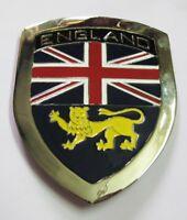 ENGLAND CAR GRILL BADGE EMBLEM LOGO METAL ENAMLED CAR GRILL BADGE EMBLEM
