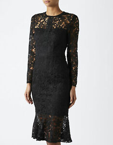 MONSOON Dress PENELOPE Black Lace Party Cocktail Occasion BNWT UK 8 US 4 £119