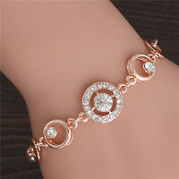 18 Rose Gold plated Wonderful Shape Design 1PC Gorgeous Woman Bracelet