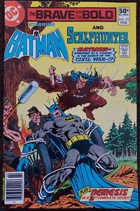 Brave and the Bold #171 VF+ 8.5 (DC 1980) Guest Star: Scalphunter!
