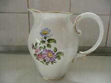 Augarten Wien Austria Porcelain large hand painted jug