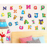 Alphabet & Animals Vinyl Mural Wall Stickers Baby Kids Room Decals Decor HV