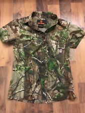 Game winner womens camo  shirt Size small