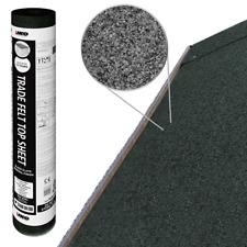IKO Trade Top Sheet | Black 10m x 1m | Garden Roofing Shed Felt Bitumen Roof