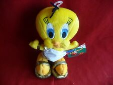 "NEW!! Warner Brothers Looney Tunes ""ROMAN TWEETY""  8"" BEAN BAG PLUSH, NWT!"