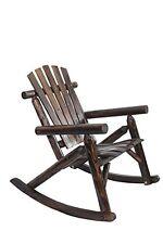 American Furniture Classics Log Rocking Chair - Burnt Burnt New