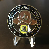 Iowa State Troopers Highway Patrol Police Challenge Coin