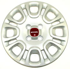 "Fiat Panda 2012 on 14"" Wheel Trim Single x1 Red Centre New Genuine 735553850"