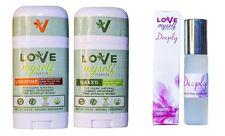 10ml Deeply Perfume Love Myself Organics with LONGTIME and NAKED Deodorants