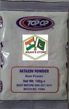1.5KG TOP OP - Fatakdi Powder (Alum Powder) 15X100g - TOP QUALITY