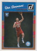 2016-17 Ben Simmons #151 Panini Donruss RC Rookie 76ers