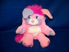 "Vintage 1985 Original Popples Pink 17"" Party Plush In Excellent Used Condition"
