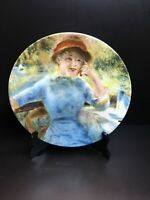Gloria Bavaria Handwork Painted Porcelain Plate