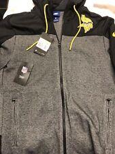 Nike NFL Minnesota Vikings AMERICAN FOOTBALL Hoodie Size SMALL Mens Jacket