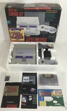 Super Nintendo Nes SNES Console System Box Boxed Complete Legend Of Zelda CIB