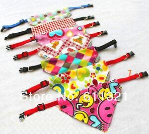 US SELLER!! Hot Pet Dog Cat Bandana Scarf Gift Tie Triangle Bibs Collars Holiday
