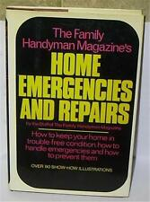 HOME EMERGENCIES & REPAIRS by Family Handyman Magazine BOOK