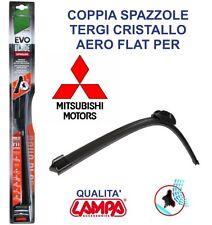 SPAZZOLE TERGICRISTALLO MITSUBISHI PAJERO DAL 2003 AL 2006 TERGI  LAMPA  FLAT