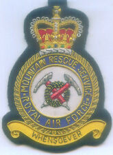 UK Britain RAF Mountain Rescue Service Unit Uniform Air Force Squadron Patch EMT
