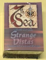 7th Sea Strange Vistas Gosse's Gentlemen Starter Deck NEW Card Game Box Seventh