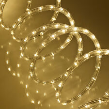 10M Blanco Cálido Duralight luz de la cuerda efectos múltiples 3 Cable Flexible Durable 240V