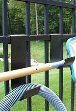 New listing MIDE Products 1-10-BLK Slip-on Fence Hooks Black Pair